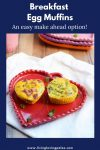 making healthy egg muffins with veggies