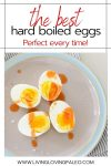 instructions for steaming hard boiled eggs