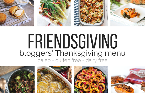 Friendsgiving Holiday Menu