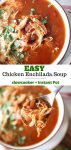 instructions for making chicken enchilada soup