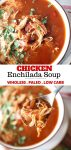 how to make chicken enchilada soup