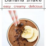 Gut-Healing Chocolate Banana Shake
