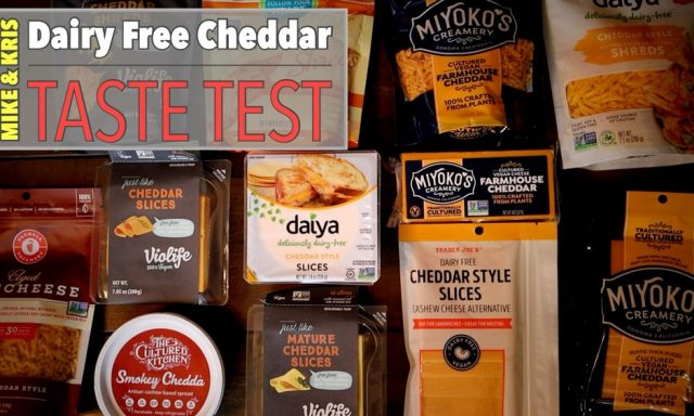 dairy free cheese taste test